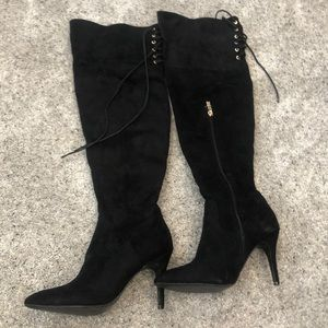 PrettyLittleThing Shoes - Lace Up High Boots! Worn Once.